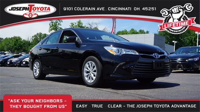 Certified Pre-Owned 2016 Toyota Camry Hybrid Hybrid LE