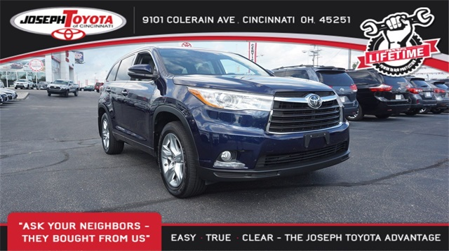 Perfect Certified Pre Owned 2016 Toyota Highlander LTD