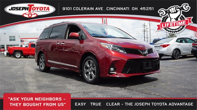 Certified Pre-Owned 2019 Toyota Sienna SE