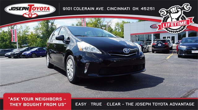 ... Pre Owned 2013 Toyota Prius V In Cincinnati 9139 Joseph Toyota Of