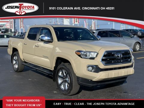 Certified Pre-Owned 2016 Toyota Tacoma Limited 4WD 4WD Double Cab V6 AT Limited (Natl)