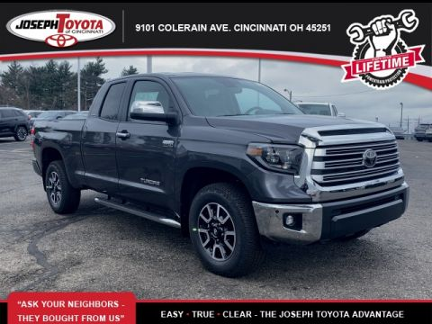 New 2020 Toyota Tundra Limited 4WD Limited Double Cab 6.5' Bed 5.7L (Natl)
