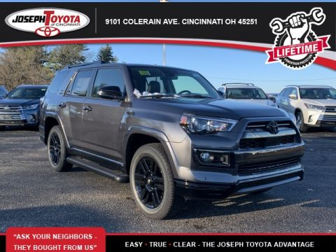 New 2020 Toyota 4Runner Nightshade 4WD 4D Sport Utility