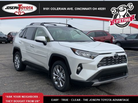 New 2019 Toyota RAV4 Limited AWD 4D Sport Utility